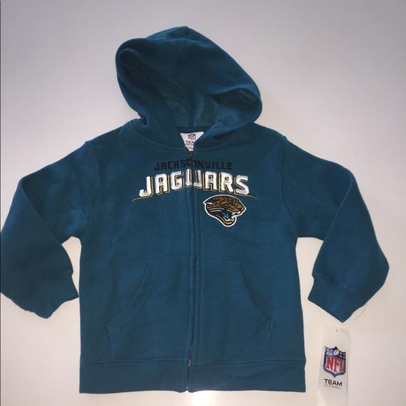 c7f32b40b Jacksonville jaguars hoodie sweatshirt 4t new nwt